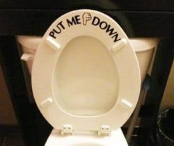 Put Me Down Sticker