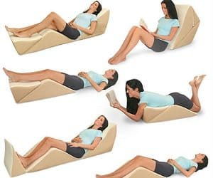 8 position bed lounger