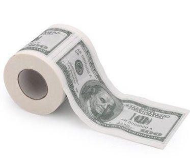 MONEY-TOILET-ROLLS