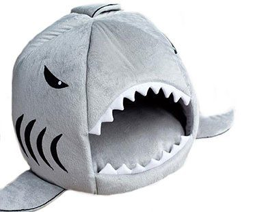 SHARK-BED-FOR-PET