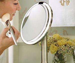 Sensor Activated Mirror