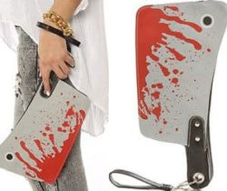 cleaver clutch bag