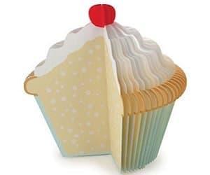 cupcake memo pad