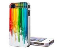 dripping crayon iPhone case