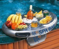 floating snack tray