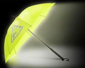 illuminated umbrella