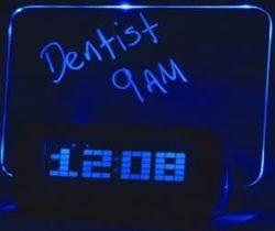 message alarm clock
