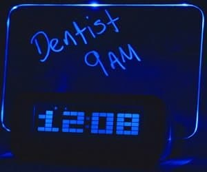 message alarm clock