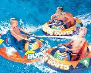 motorized bumper boat