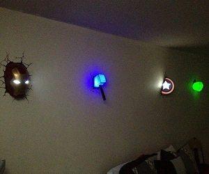 Superhero Night Lights