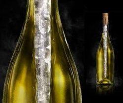 wine bottle icicle