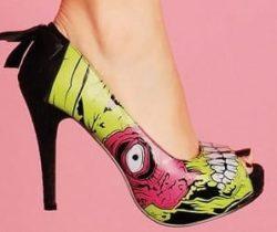 zombie platform shoes