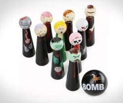 zombie bowling game