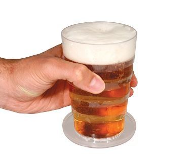 Folding Beer Cup