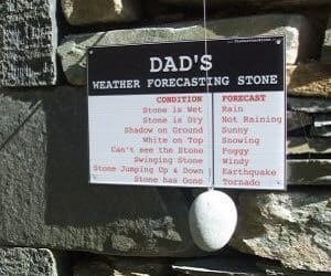 Personalized Weather Stone
