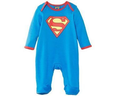 SUPERMAN-BABY-ONESIE