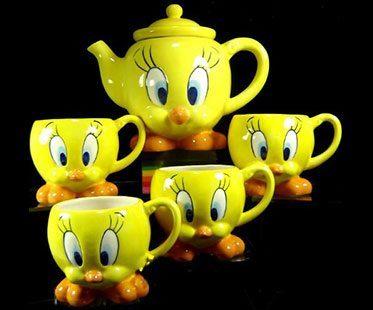 TWEETY-BIRD-TEA-SET