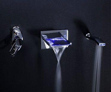 WATERFALL-LED-BATH-FAUCETS