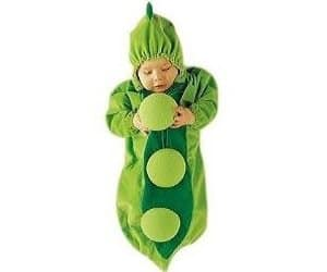 baby pea outfit