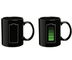 Heat Changing Battery Mug