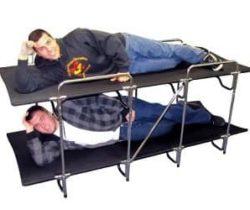 camping bunk beds