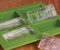 cash ice cubes