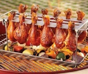chicken cooking rack