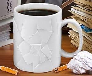 cracked mug