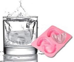 denture ice cubes