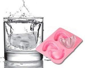 denture ice cubes