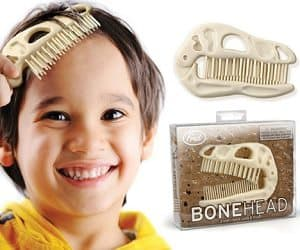 dinosaur brush and comb
