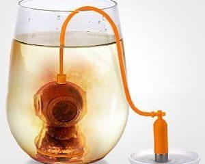diver tea infuser