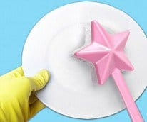 fairy wand dish brush