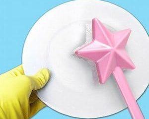 fairy wand dish brush