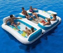 giant floating island