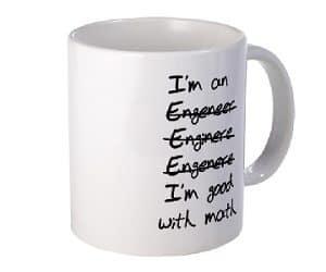 good with math mug