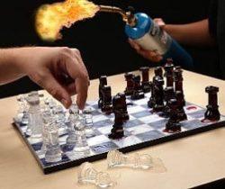 ice chess set