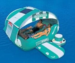 inflatable cabana lounger