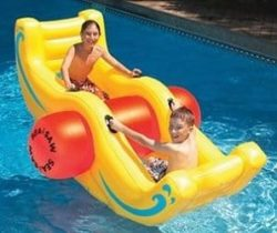 inflatable see-saw