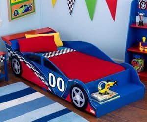race car toddler bed