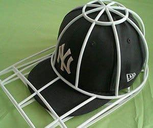 shape keeping cap washer