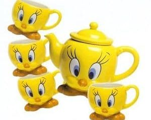 tweety bird tea set