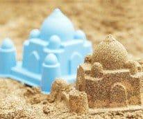 world landmark sand molds