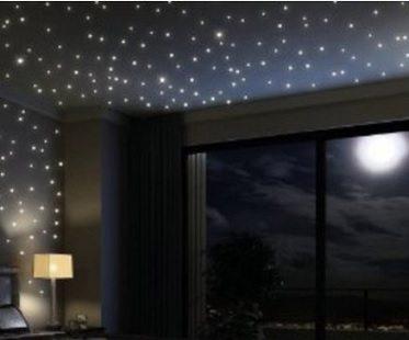 Glowing Star Decals