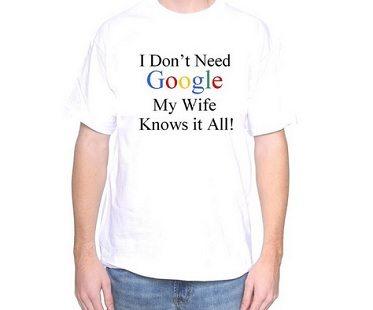 I Dont Need Google Tshirt