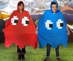 Pac-Man ghost poncho