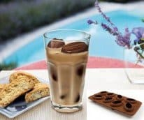 coffee bean ice cubes