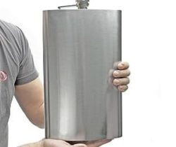 giant liquor flask