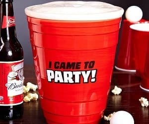 giant red party cup