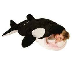 killer whale sleeping bag